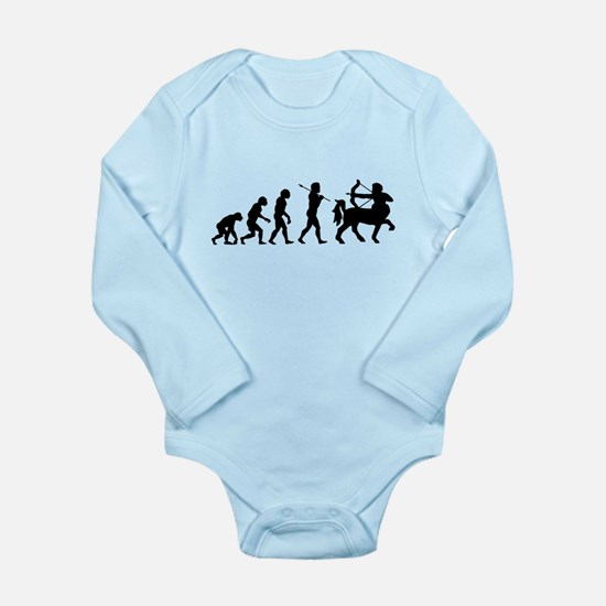 Centaur Archer Evolution Long Sleeve Infant Bodysu