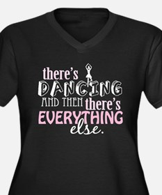 Dancing is Everything Women's Plus Size V-Neck Dar