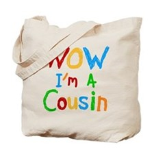 WOW I'm a Cousin Tote Bag