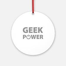 Geek Power Ornament (Round)