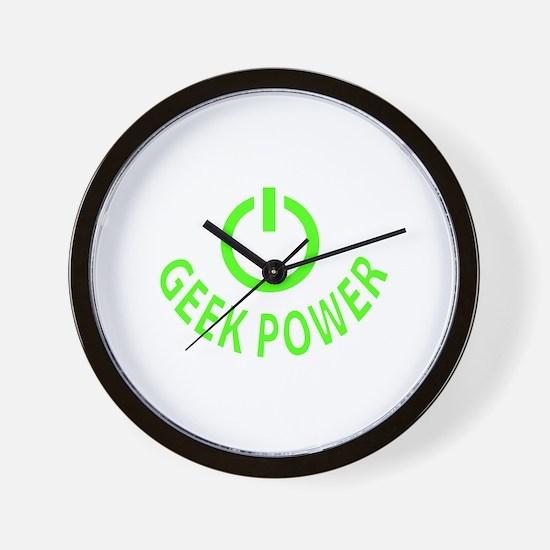 Geek Power Wall Clock