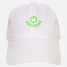 Geek Power Baseball Baseball Cap