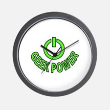 Geek Power Wall Clock