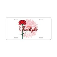 Twilight Flowers by Twidaddy.com Aluminum License