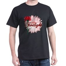 Twilight Flowers by Twidaddy.com T-Shirt