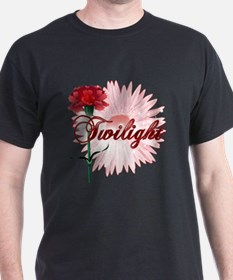 Twilight Flowers by Twidaddy.com T-Shirt