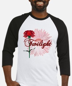 Twilight Flowers by Twidaddy.com Baseball Jersey