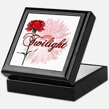 Twilight Flowers by Twidaddy.com Keepsake Box