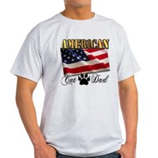 American Cat Dad T-Shirt