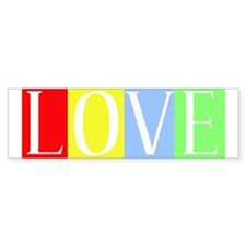 Love Bumper Bumper Sticker