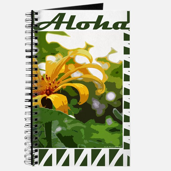 Yellow Blossom Aloha Journal