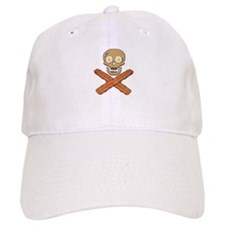 Food Pirate Bacon Eggs Baseball Baseball Cap
