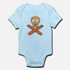 Food Pirate Bacon Eggs Infant Bodysuit