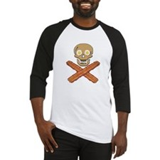 Food Pirate Bacon Eggs Baseball Jersey