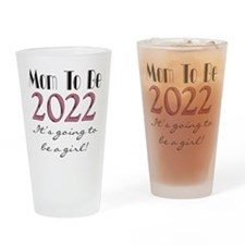 2012 Future Mom of Girl Drinking Glass