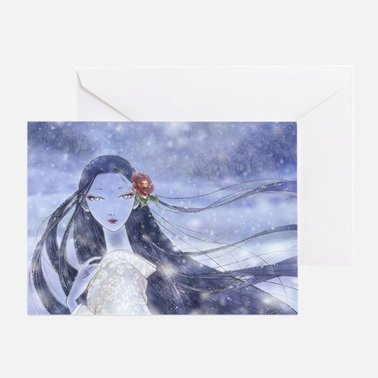Yukionna Greeting Card