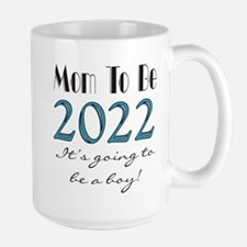 2017 Future Mom of Boy Large Mug