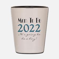 2017 Future Mom of Boy Shot Glass