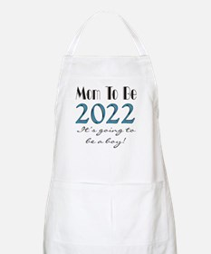 2017 Future Mom of Boy Light Apron