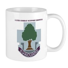 DUI - 115th Combat Support Hospital with Text Mug