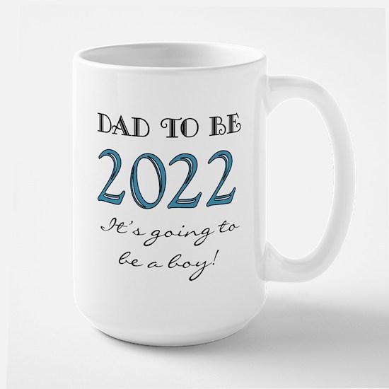 2017 Dad to Be Boy Large Mug