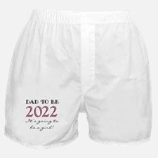 Dad To Be 2017 Girl Boxer Shorts