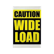 Wide Load (Fat) Rectangle Magnet (100 pack)