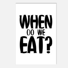 When Do We Eat? Postcards (Package of 8)