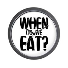 When Do We Eat? Wall Clock
