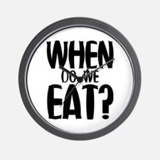 When Do We Eat? Wall Clock