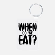 When Do We Eat? Keychains