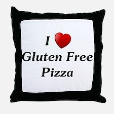 I Love Gluten Free Pizza Throw Pillow