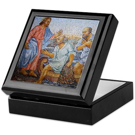 Jesus and St. Peter Keepsake Box