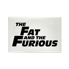 The Fat and the Furious Rectangle Magnet (100 pack