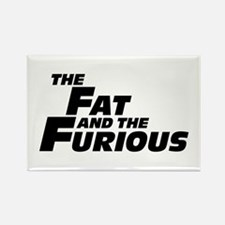 The Fat and the Furious Rectangle Magnet (10 pack)