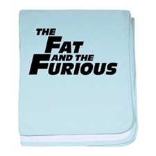 The Fat and the Furious baby blanket