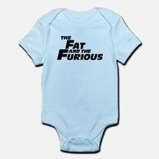 The Fat and the Furious Infant Bodysuit