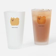 Pomeranian Drinking Glass