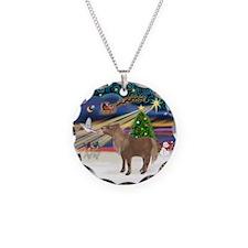 Xmas Magic / Shetland Pony Necklace