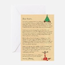 Dear Santa Funny Christmas Card