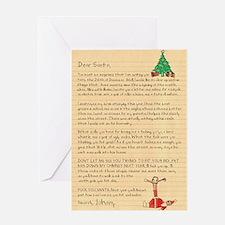 Dear Santa Funny Christmas Card