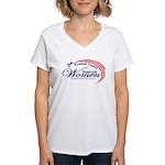 KCDW Women's V-Neck T-Shirt