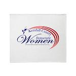 KCDW Throw Blanket