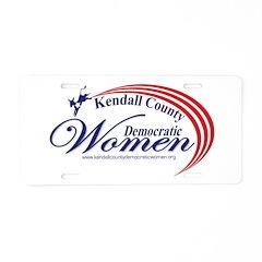 KCDW Aluminum License Plate