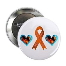 "Someone I Love Has CRPS Heart 2.25"" Button"
