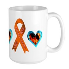 Someone I Love Has CRPS Heart Mug