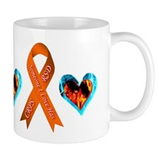 Someone I Love Has CRPS Heart Mug