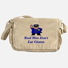 Real Men Don't Eat Gluten Messenger Bag