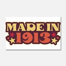 Made in 1913 Car Magnet 20 x 12