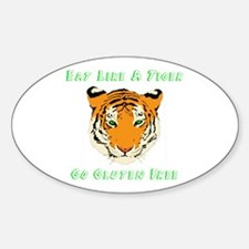 Gluten Free Tiger Decal
